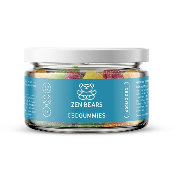 ZenBears 600mg CBD Gummies 150g