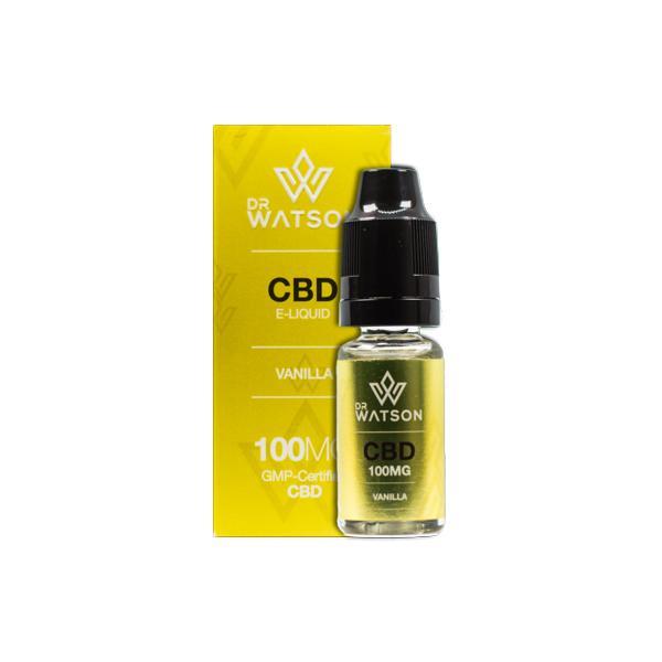 Dr Watson 100mg CBD Vaping Liquid 10ml