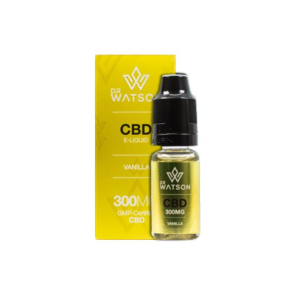 Dr Watson 300mg CBD Vaping Liquid 10ml
