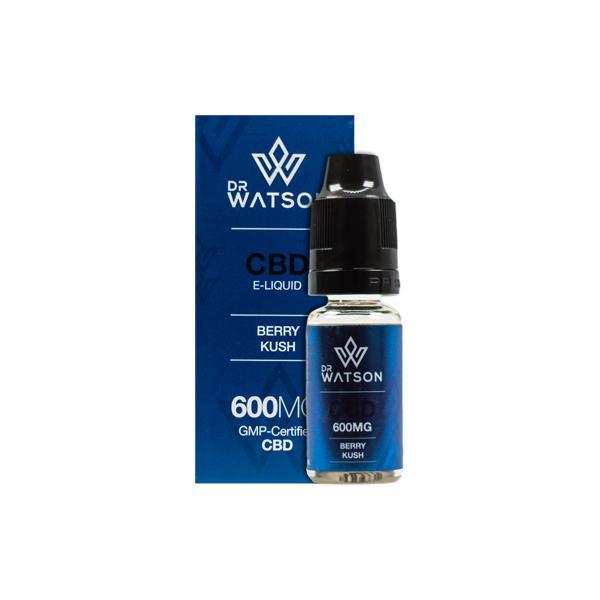 Dr Watson 600mg CBD Vaping Liquid 10ml