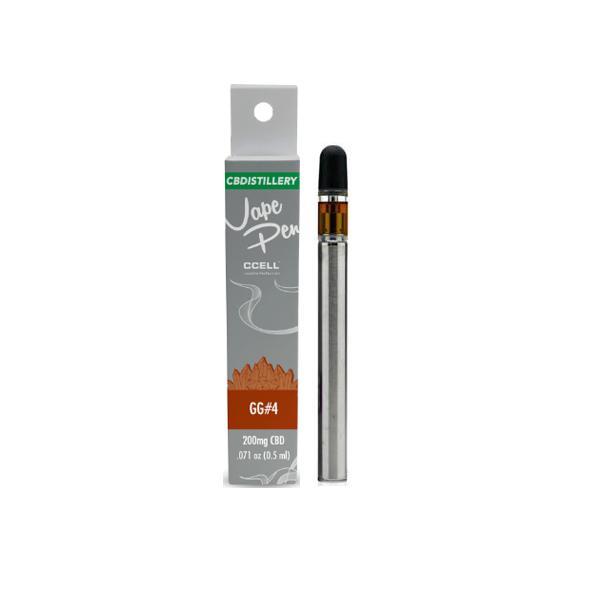 CBDistillery 200mg CBD Disposable Vape Pens GG#4