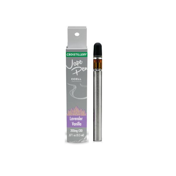 CBDistillery 200mg CBD Disposable Vape Pens Lavender Vanilla