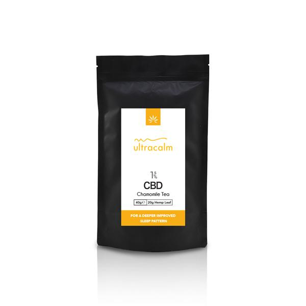 Ultracalm 1.5% CBD Hemp Tea - Chamomile 40g
