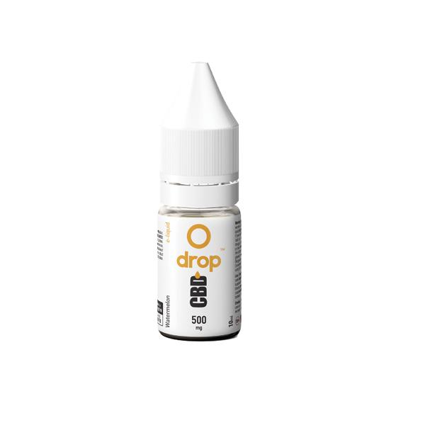 Drop CBD Flavoured E-Liquid 500mg 10ml