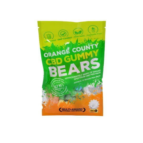OrangeCountyCBDmgGummyBears GrabBag