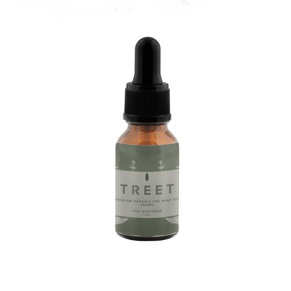 TREET 500mg CBD Organic Full Spectrum CBD Oil 10ml