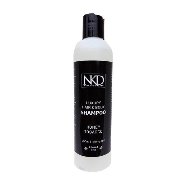 NKD 150mg CBD Hair and Body Shampoo 250ml