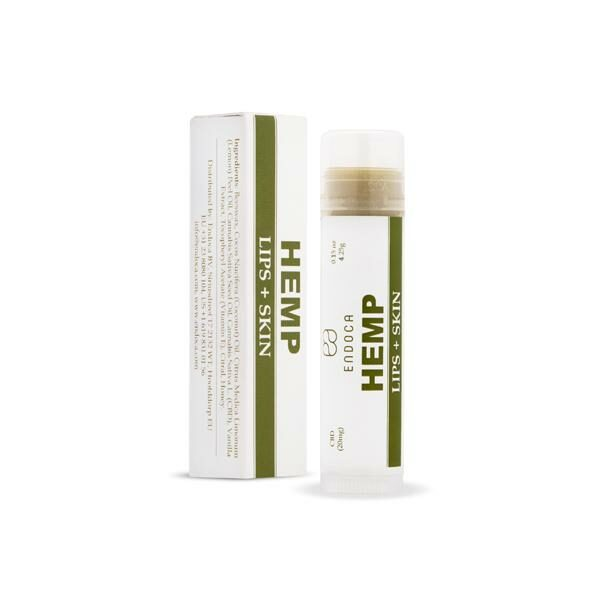 Endoca 20mg CBD Lips + Skin Moisturiser