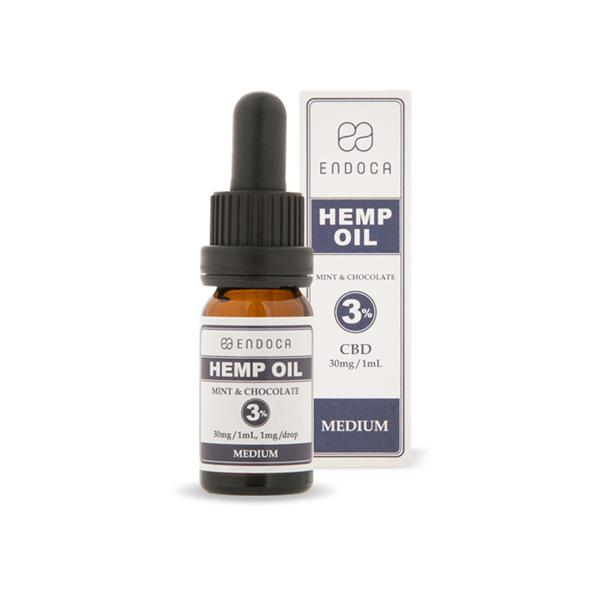 Endoca 300mg CBD Hemp Oil Drops Mint & Chocolate – 10ml