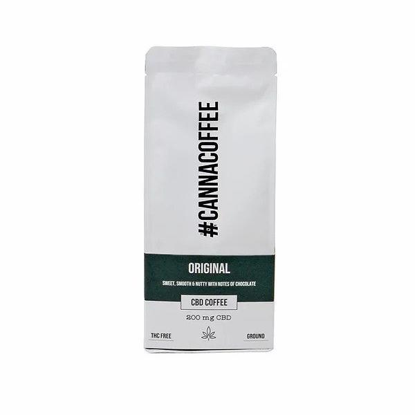 Cannacoffee 200mg CBD Original CBD Ground Coffee