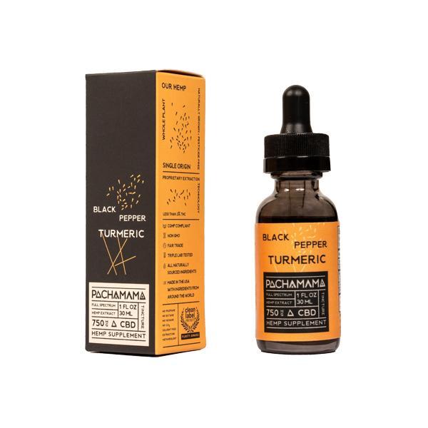 Pachamama 750mg CBD Tincture Oil 30ml – Natural
