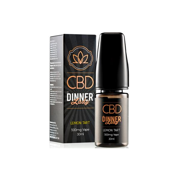 Dinner Lady CBD 500mg 30ml E-Liquid
