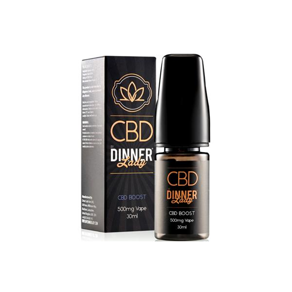 Dinner Lady CBD 500mg 30ml E-Liquid Boost