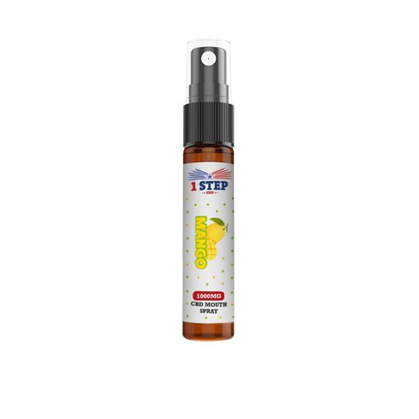 1 Step CBD 1000mg CBD Mouth Spray 10ml