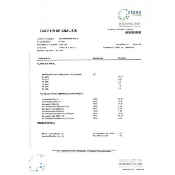 CBDWax.GCherry%Certificate