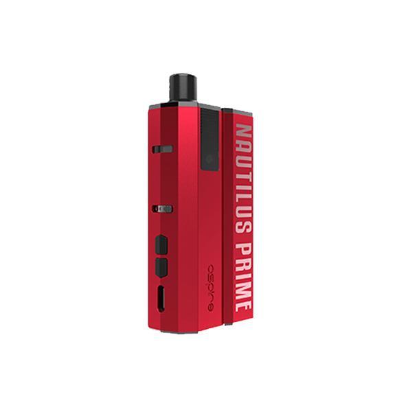 Aspire Nautilus Prime Kit Garnet Red