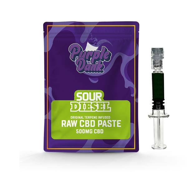 Purple Dank 1000mg CBD Raw Paste with Natural Terpenes – Sour Diesel