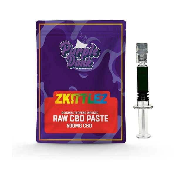 Purple Dank 1000mg CBD Raw Paste with Natural Terpenes – Zkittlez