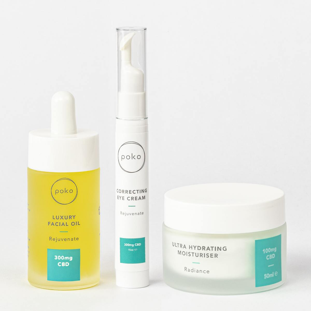 Poko Nourishing Skincare Gift Set products