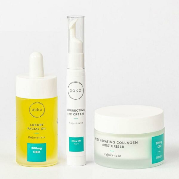 Poko anti ageing skincare gift set products