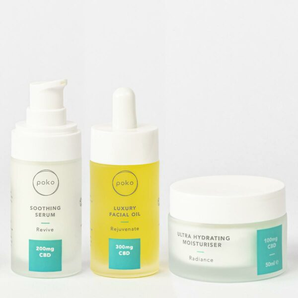 Poko Hydrating Skincare Gift Set products