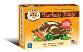 """A pack of 18""""x20"""" turkey bags"""