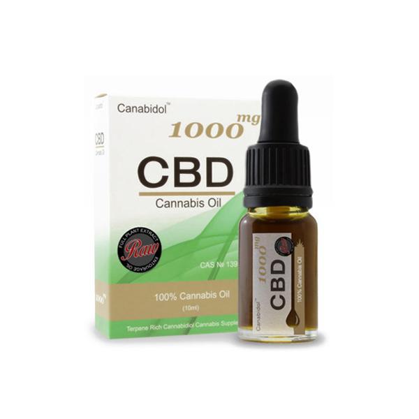 Canabidol 1000mg CBD Oil | Tincture