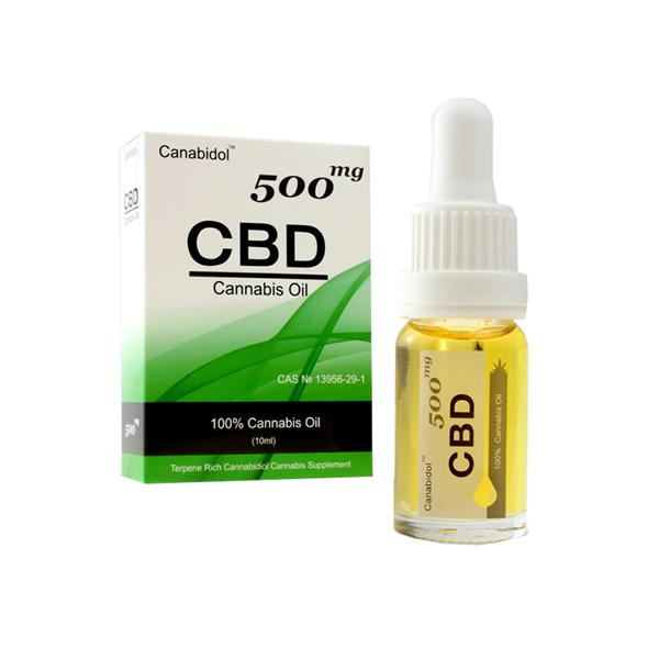 CBD Cannabis Oil 500mg