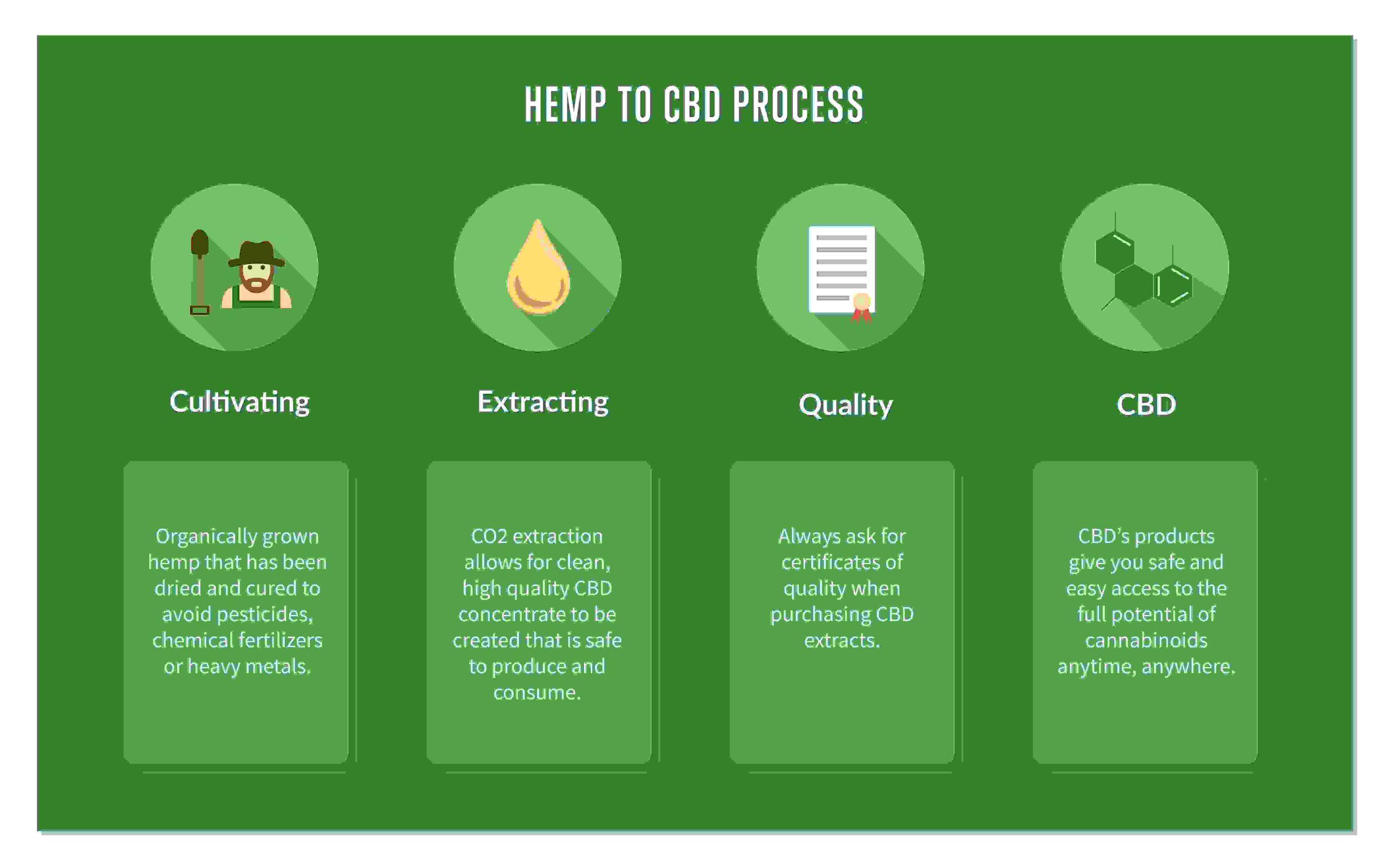 CBD Extract | hemp to cbd process
