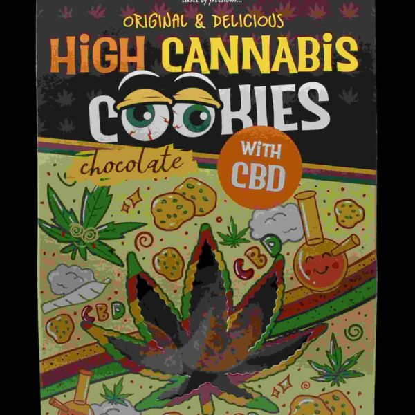 Euphoria High Cannabis Chocolate Cookies CBD