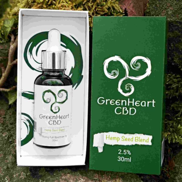 Greenheart Cbd 750mg Full Spectrum Hemp Oil 30ml