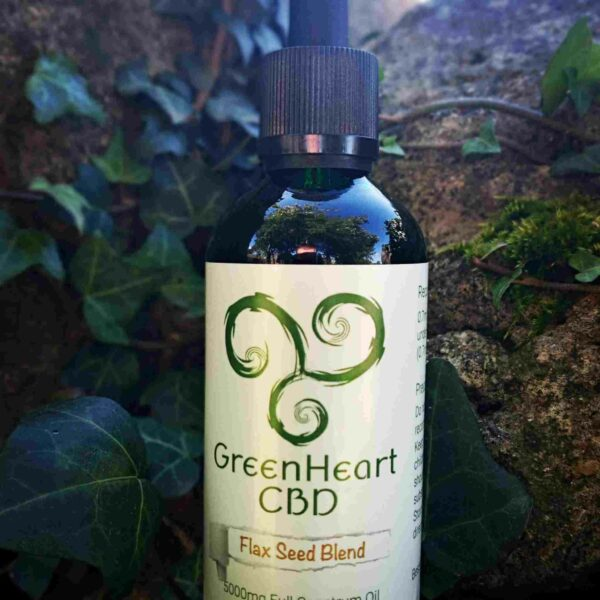 Greenheart CBD 2500mg Full Spectrum Flaxseed Blend - 100ml