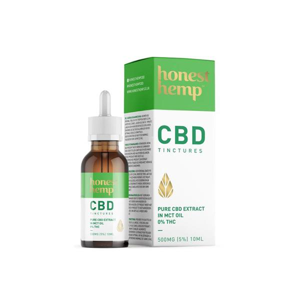 Honest Hemp 500mg CBD 10ml