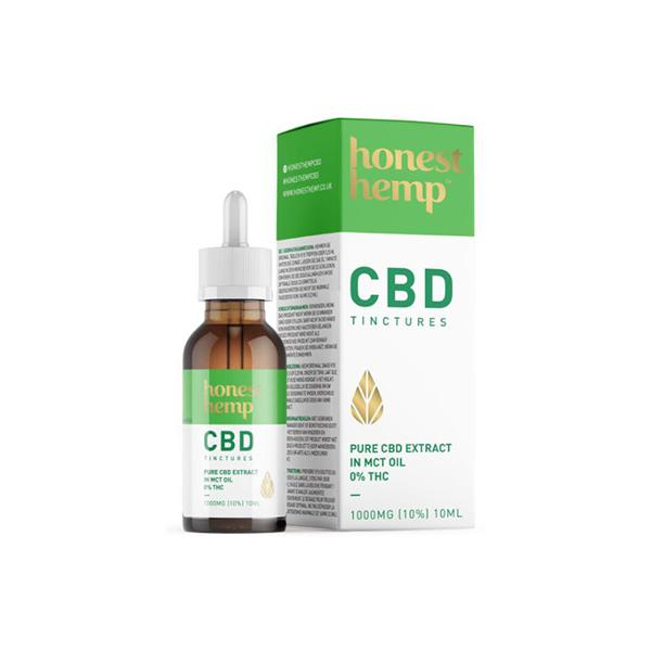 Honest Hemp 1000mg CBD 10ml