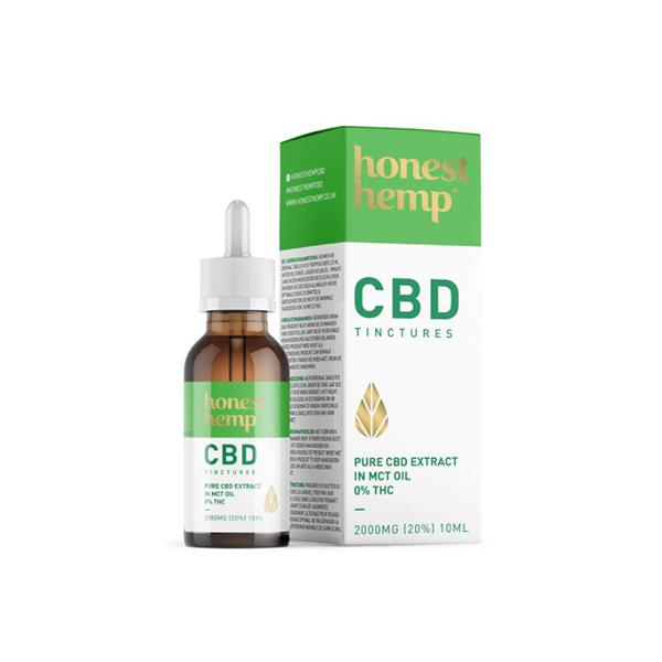 Honest Hemp 2000mg CBD 10ml