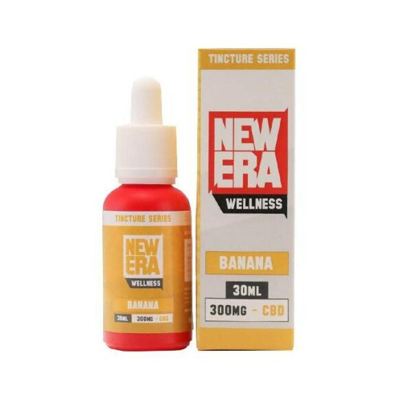 New Era Wellness CBD oil Tincture 30ml_300mg _ Banana