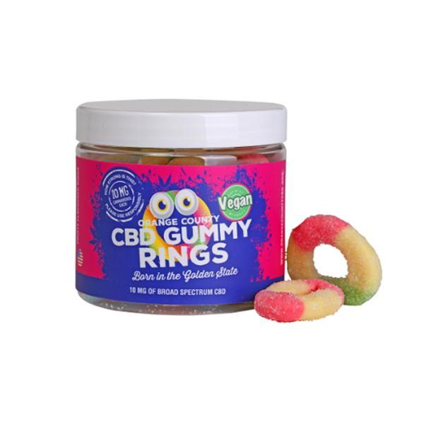 Orange County CBD Gummy Rings 25mg - Small Pack
