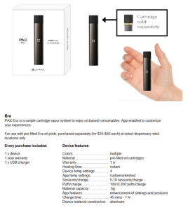 The Pax Era, For Concentrates